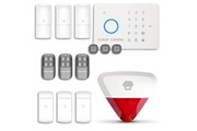 Chuango Alarme maison - système d'alarme sans fil gsm immunité animaux + sirène flash avec batterie chuango o3 / g5 / s5