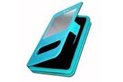 PH26® HP Elite x3 Etui Housse folio à fenêtres turquoise de qualité by PH26®