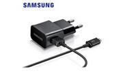 Samsung Chargeur secteur 1a eta0u81e + cable ecb-du5abe samsung -noir