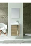 Anconetti Ensemble meuble lave-mains ancodesign 45cm - noyer - anconetti