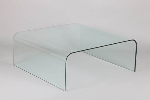 Inside 75 Table Basse Carre Cristale En Verre