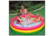 Intex Intex 57422NP Intex pataugeoire pour enfants - Trois boudins. Diamètre : 147 cm Hauteur : 33 cm