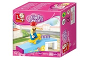 Alpexe Jeu de construction SLUBAN Elements Girls Dream Series Skate Park