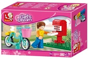 Alpexe Jeu de construction SLUBAN Elements Girls Dream Series Boite mail