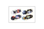 Hudora Hudora 12035 Miniskateboard XXS - différents Designs