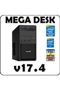 Atlanpolis PC MEGA DESK Pentium G4400 / 4 Go DDR4 / SSD 240 Go / Windows 10 Home 64 bits