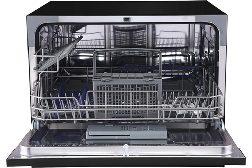 Brandy best flash6n lave vaisselle compact 6 couverts noir - Lave vaisselle compact 6 couverts ...