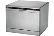 Candy Lave-vais­selle compact CANDY CDCP6/E-S
