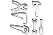 Stadter Lot de 6 emporte pieces a patisserie en forme d'outils - stadter
