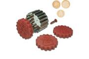 Stadter Lot de 3 emportes pieces hiver avec tampons ejecteurs - stadter
