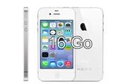 Apple Sparfix® - apple iphone 4s 16go blanc débloqué tout opérateur remis à neuf boite accessoire