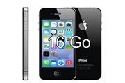 Apple Sparfix® - apple iphone 4s 16go noir débloqué tout opérateur remis à neuf +boite accessoire