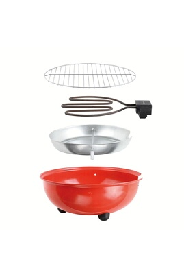 Be Nomad Barbecue de table électrique rouge doc170r