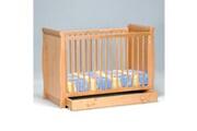 LE QUAI DES AFFAIRES Lit bébé teddy 60x120 + 1 tiroir / miel