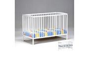 LE QUAI DES AFFAIRES Lit bébé ludo 60x120 / blanc