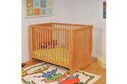LE QUAI DES AFFAIRES Lit bébé teddy 60x120 / miel