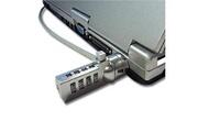 Cabling Cable antivol universel a code 4 chiffres pour ordinateur portable netbook ou notebook pc -