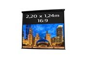 KIMEX Ecran de projection électrique 2,20 x 1,24m- format 16:9