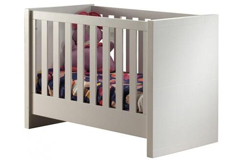 Comforium Lit bébé design 60x120 cm avec sommier à lattes en pin ...