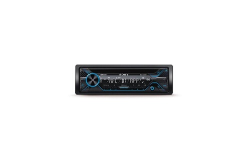 Sony Sony autoradio mexn-4200bt entrée auxiliaire et usb en façade songpal illumination rouge 4 x 55 w