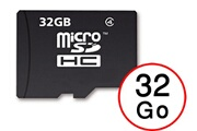 PH26® Samsung galaxy j3 (2017) carte mémoire micro-sd 32 go + adaptateur de qualité by ph26®