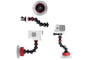 Joby Suction cup & gorillapod arm (black/red)