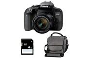 Canon Eos 800d + 18-55 is stm + sac + sd 4go