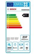 Bosch Lave vaisselle 60 cm bosch sms 68 mw 05 e