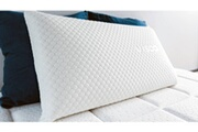 Hbedding Oreiller à mémoire de forme 60x40 mémo grand confort - mousse visco avec traitement anti-allergène et anti-bactérien
