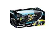 PLAYMOBIL 9089 action - voiture de course noire radiocommandée