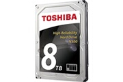Toshiba Toshiba n300 8 to (bulk) - disque dur 3.5' 8 to 7200 rpm 128 mo serial ata iii pour nas (version bulk)