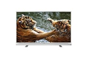 Grundig Téléviseur écran plat GRUNDIG - 32VLE5503WG LED 80 cm - HDTV - PPR 200 Hz - DTS TruSurround-FRANSAT-USB PVR - Barre son en faç.-Blanc