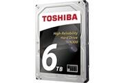 Toshiba Toshiba n300 6 to (bulk) - disque dur 3.5' 6 to 7200 rpm 128 mo serial ata iii pour nas (version bulk)