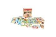 JeuJura Coffret de jeux de société traditionnels - coffret en bois : 150 règles