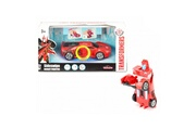 Majorette Voiture transformable transformers robot fighter 15 cm : sideswipe
