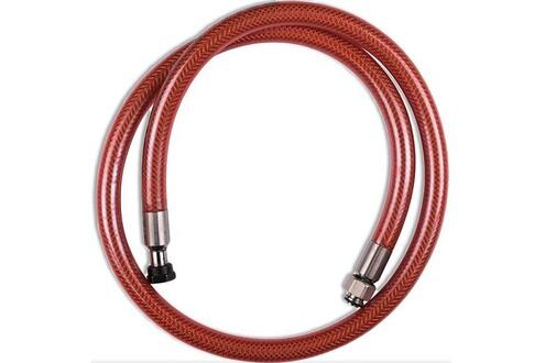Wpro Flexible vissinox gaz butane propane long. 1m durée de vie illimitée - réf: 481281729753