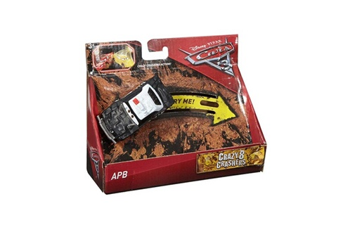Mattel Cars 3 - crazy 8 crashers : apb