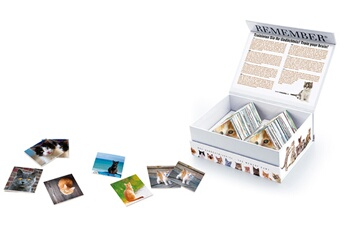 Jeu du memory 44 paires de cartes chats - remember