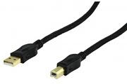 Hq Noir câble de données usb pour imprimante epson expression home xp-335, xp-245, xp-235, xp-432, xp-442, xp-245, xp-342, xp-322, xp-215, xp-305, xp-415, xp-412, xp-760 xp-212,... Tous les modèles xp... Et plus