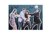Nathan Puzzle 500 pièces : chica vampiro : les personnages