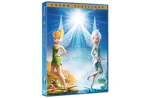 Disney Dvd clochette/le secret des fées