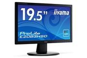Iiyama Iiyama 19.5' led - prolite e2083hsd-b1 - 1600 x 900 - 5 ms dalle tn - noir