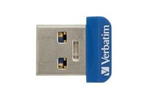 Verbatim Verbatim clã© usb3.0 64go nano store'n stay bleu