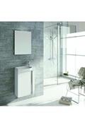 Anconetti Ensemble meuble lave-mains ancodesign 45cm - blanc - anconetti