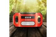 Duronic Apex radio am / fm à dynamo / solaire / usb avec alarme / lampe torche / horloge - aucune pile nécessaire