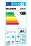 Brandt Lave linge top brandt bwt 652 t