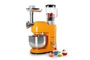 KLARSTEIN Lucia orangina robot de cuisine pétrin mixeur hachoir - orange