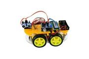 Viewtek Viewtek rt0009 kit arduino voiture intelligente smart car avec uno 328 - bluetooth & télécommande - fonction evitement d'obstacle suivi de ligne - ave