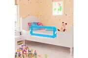 Vidaxl Barrière de lit pour enfants 102 x 42 cm bleu
