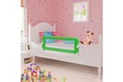 Vidaxl Barrière de lit pour enfants 102 x 42 cm vert